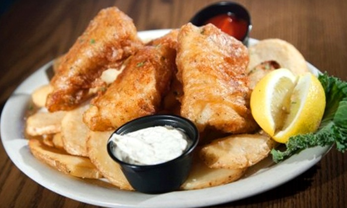 Six Pence Pub - Baxter: $12 for $24 Worth of Pub Fare at Six Pence Pub in Fort Mill