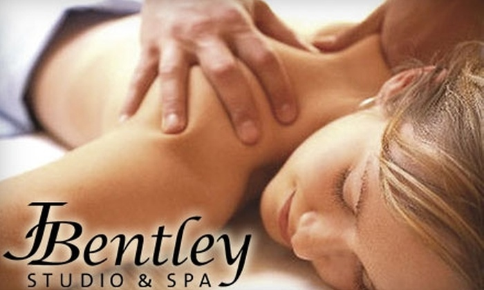 J.Bentley Studio & Spa - Powell: $49 for a 20 Minute Dry Hydrotherapy Bed Session, 60 Minute Massage, and Sugar Back Scrub at J.Bentley Studio & Spa ($115 Value)