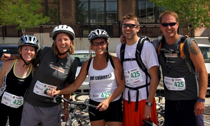 Oyster Shooter Aventure Race - Downtown: $20 for One Entry ($40 Value) or $30 for Two Entries ($80 Value) to the Oyster Shooter Adventure Race