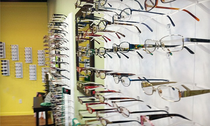 Brighton Vision - Rochester: Eye Exam and $200 Toward Prescription Eyeglasses or $50 for $100 Toward Sunglasses at Brighton Vision