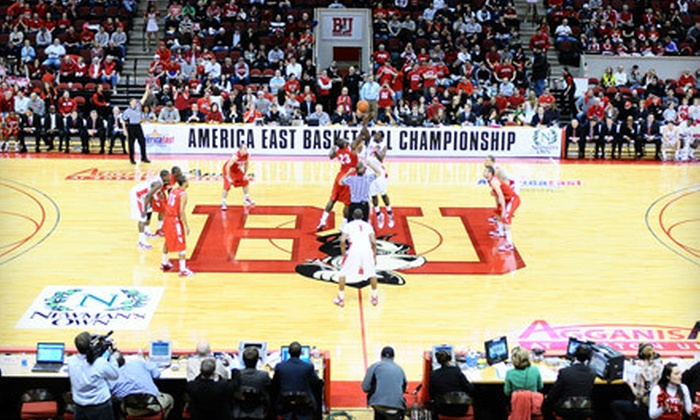 Boston University Basketball - Allston: Two Tickets to a Boston University Basketball Double-Header at Agganis Arena on February 1 at 5 p.m. ($27.90 Value)