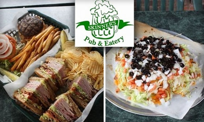 Skinner's Pub and Eatery - West Seventh: $10 for $20 Worth of Pub Grub at Skinner's Pub and Eatery