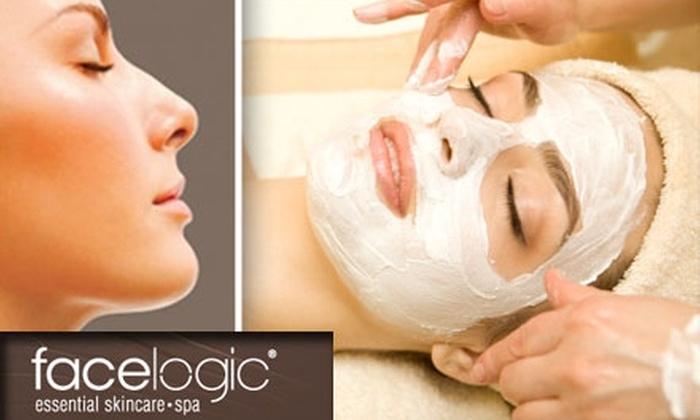 Facelogic Spa - Encinitas: $49 Elite Facial and Upper-Body Massage at Facelogic Spa