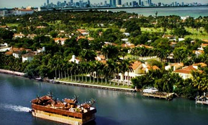Tahiti Palm Charters - Miami Government District,Port of Miami,Downtown Miami: $49 for a Party Cruise Ticket from Tahiti Palm Charters (Up to $99 Value)