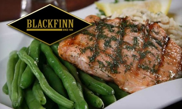 BlackFinn - Central Office: $12 for $25 of Contemporary American Fare and Drinks at BlackFinn