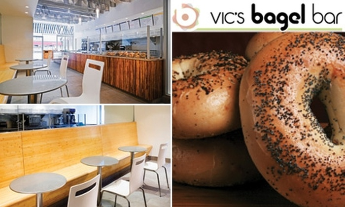 Vic's Bagel Bar - Murray Hill: $4 for $8 Worth of Food & Drink at Vic's Bagel Bar