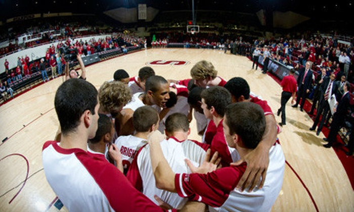 Stanford Cardinal Men's Basketball - Stanford University: $22 for Outing for Two to Stanford Cardinal Men's Basketball Game Against USC on December 31 ($44 Value)