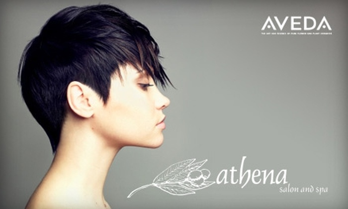 Athena Salon and Spa Tallahassee - Tallahassee: $30 for $60 Worth of Spa Services or $20 for a Scalp Massage, Haircut, Style, and Color Consultation ($40 Value) at Athena Salon & Spa