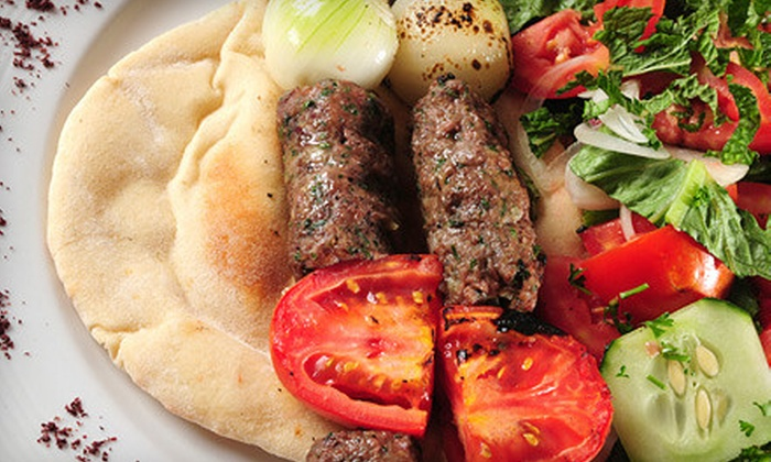 Viceroy Lounge - Sherman Oaks: $35 for Middle Eastern Meal with Appetizer and Beer for Two from Viceroy Lounge in Sherman Oaks (Up to $76 Value)