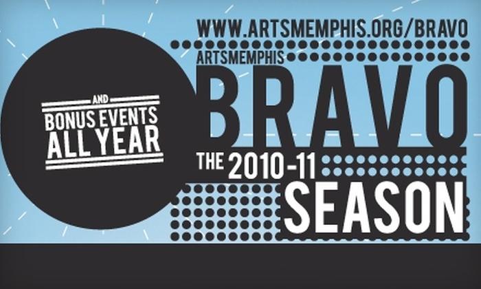 ArtsMemphis - Memphis: Memberships to ArtsMemphis's Bravo Program. Choose from Two Membership Options.