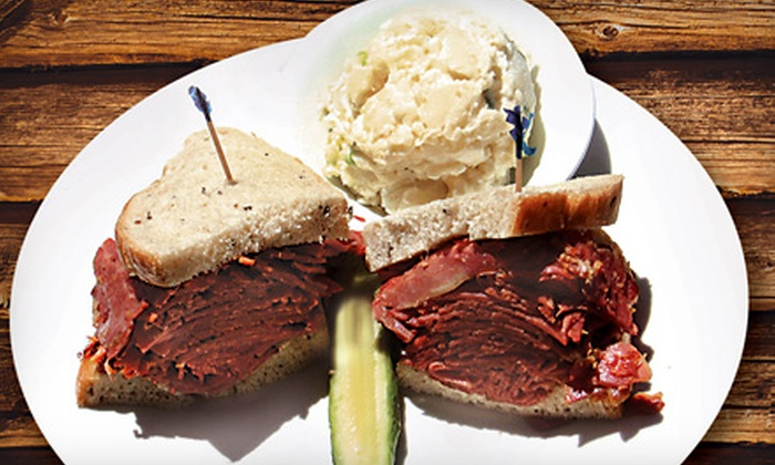 Levy's Bagels & Deli - Canyon Gate: Prix Fixe Breakfast or Dinner for Two at Levy's Bagels & Deli
