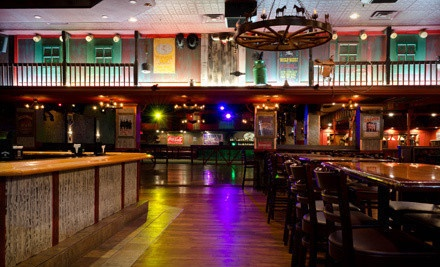 $80 Groupon for Classic Steak-House Cuisine and Drinks for 4 People - Cowboys Saloon in Davie