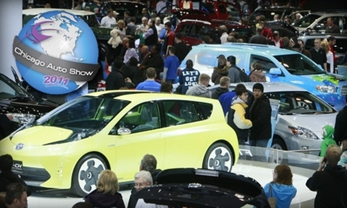 2011 Chicago Auto Show - Central Chicago: $6 for One Ticket to the Chicago Auto Show (Up to $11 Value)