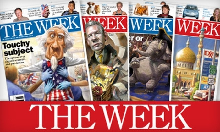"""The Week"" - Multiple Locations: $25 for 50 Issues of the ""The Week"" Magazine ($49.50 Value)"