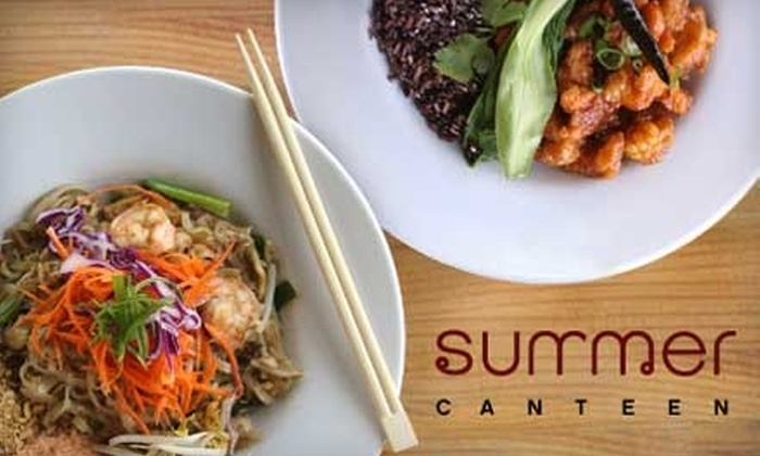 Summer Canteen - Valley Village: $9 for $20 Worth of Authentic Thai Fare at Summer Canteen in North Hollywood