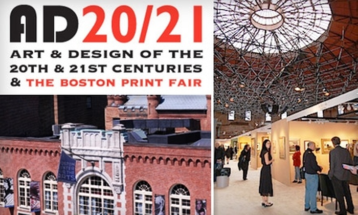 AD 20/21 & The Boston Print Fair - South End: $8 Admission to AD 20/21 and The Boston Print Fair ($15 Value)