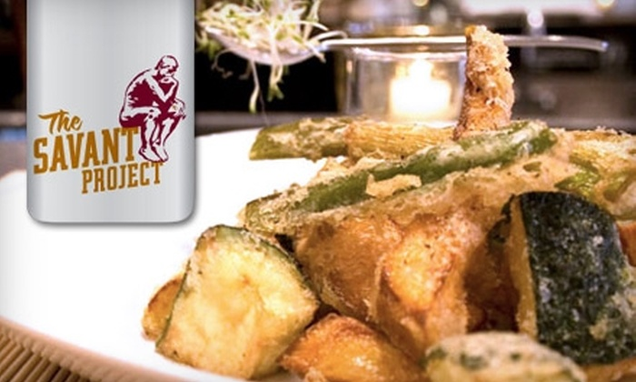 The Savant Project - Fenway/Kenmore: $20 for $40 Worth of Gourmet Cuisine at The Savant Project