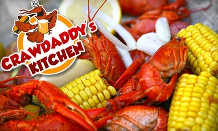 Crawdaddy's Kitchen - Jenkins Subdiv., Pinecroft Subdiv.: $15 for $30 Worth of Cajun Cuisine and Drinks at Crawdaddy's Kitchen