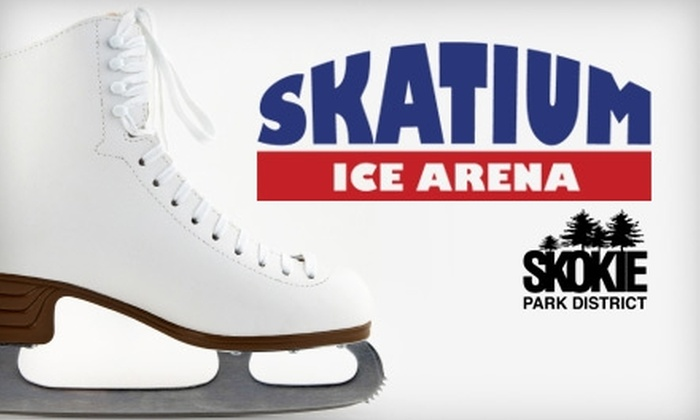 Skatium Ice Arena - Skokie: $22 for 10 Public Skating Sessions at the Skatium Ice Arena in Skokie