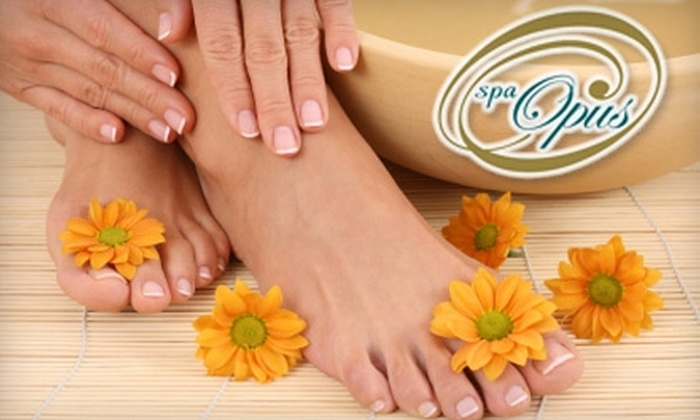 Spa Opus - Downtown: $45 for a Mani-Pedi at Spa Opus ($115 Value)