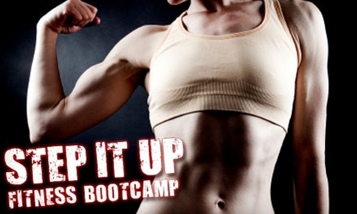 Step It Up Fitness - Multiple Locations: $45 for One Month of Boot Camp at Step It Up Fitness ($175 Value)
