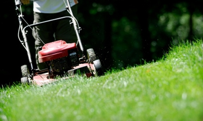 Green Healthy Cleaning, Inc. - Arbutus: Four Weeks of Lawn-Mowing Services from Green Healthy Cleaning's Landscaping Services. Three Options Available.