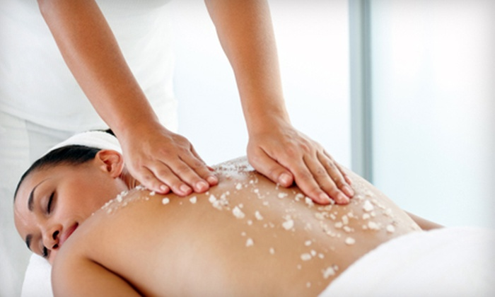 Changes in Motion - Windy Hill: $50 for an Eminence Body Scrub and Body Wrap at Changes in Motion ($100 Value)