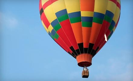 Sunrise Hot Air Balloon Flight for 2 Valid Mon.Thurs. Plus 1 VIP Dine 4 Less Card (a $500 value) - Vegas Balloon Rides in Las Vegas