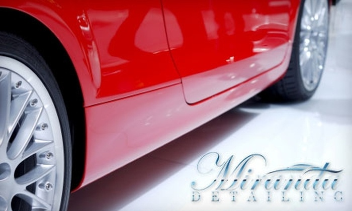 Miranda Detailing - Richmond: $49 Executive Auto Detail at Miranda Detailing ($100 Value)