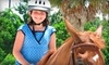 Acts 2 Acres Equestrian Center - Palm Beach Farms: $25 for a Three-Hour Children's Pony Club with One-Hour Riding Lesson at Acts 2 Acres Equestrian Center in Coconut Creek ($50 Value)