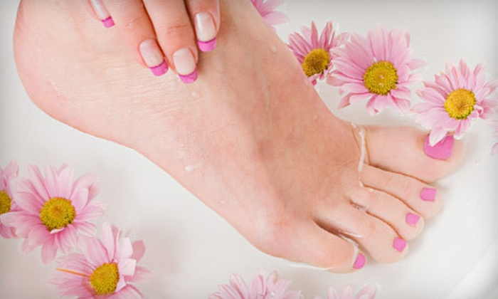 Hera Nail Spa - Southwest Arapahoe: One or Three Manicures with Paraffin Hand Wraps and Signature Pedicures at Hera Nail Spa in Littleton (Up to 57% Off)