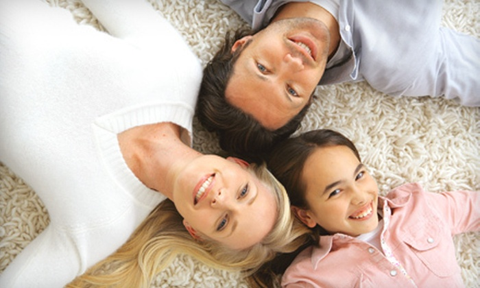 Steam Carpet Cleaning MD - Multiple Locations: Carpet or Tile-and-Grout Cleaning from Steam Carpet Cleaning MD (Up to 71% Off). Four Options Available.