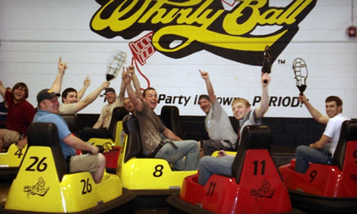 Whirlyball Novi - Novi: $155 for a Whirlyball Outing for Up to 15 People with Pizza, Breadsticks, Salad, and Soda at Whirlyball Novi ($364 Value)