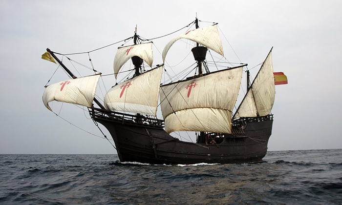 Nao Victoria Experience Tall Ship Event - Fort Myers Beach: $12 for Tall Ship Event for Two from National Air, Sea and Space Foundation ($24 Value)
