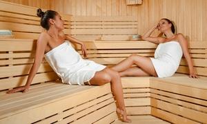 L'INSTANT MARY COHR: 5 séances de sauna ou forfait comprenant sauna, gommage et modelage pour 1 ou 2 personnes dès 25 € à L'Instant Mary Cohr