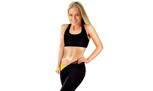 Women's Thermo Slimming Detox Pants with Pocket: Women's Thermo Slimming Detox Pants with Pocket