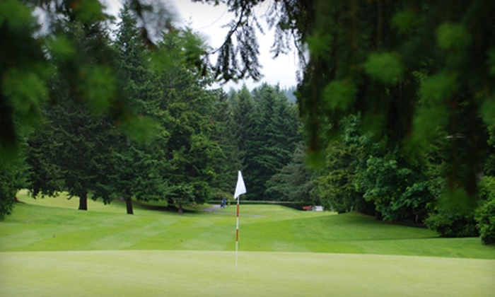 Meadowmeer Golf & Country Club - Bainbridge Island: $52 for an 18-Hole Round of Golf for Two with Beers and Snacks at Meadowmeer Golf & Country Club (Up to $107 Value)