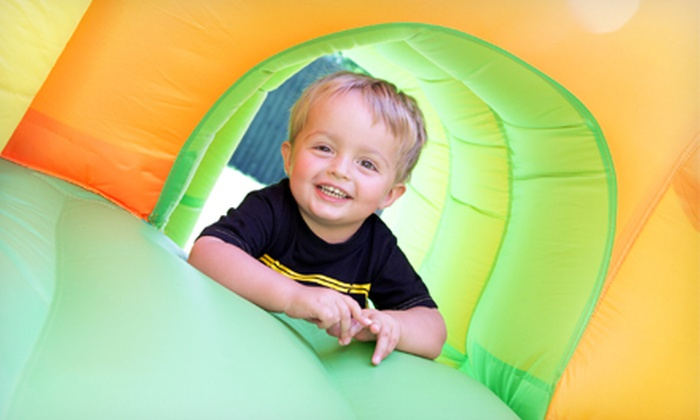 Monkey Joe's - Multiple Locations: 2 or 10 Bounce-House Playground Visits at Monkey Joe's (Up to 51% Off)