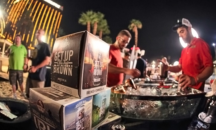 Las Vegas Beer and Barrel Project Beach Festival - Mandalay Bay Beach: Las Vegas Beer and Barrel Project Beach Festival on August 28–30 (Up to 31% Off)