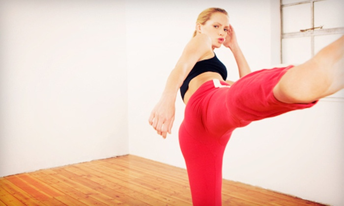 Studio Fitness - Walker Farm: 5 or 10 Cardio Kickboxing – Turbo Kick Classes at Studio Fitness (Up to 70% Off)
