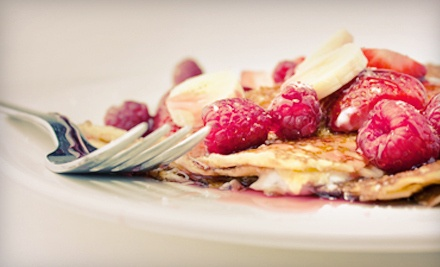 Cafe Lunch or Dinner for Two (up to a $31.40 value)  - Doux Crepes in Vancouver