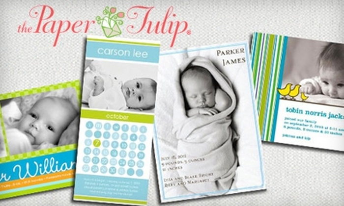 The Paper Tulip - Springlake, University Terrace: $10 for $20 Worth of Stationery and Gifts at The Paper Tulip