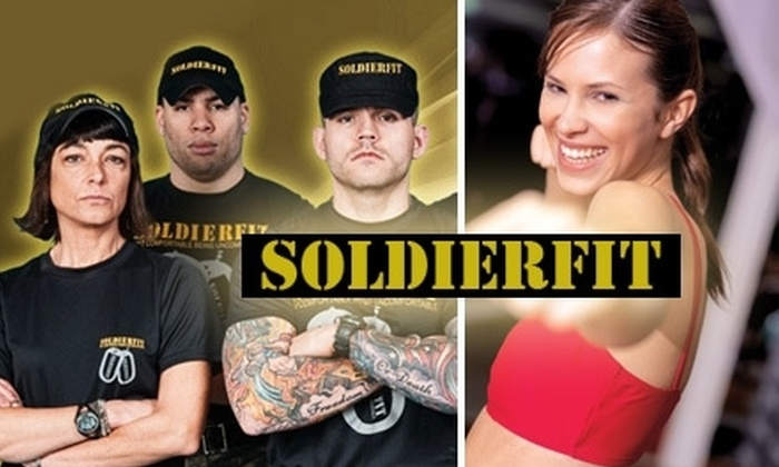 Soldierfit Fittness - Multiple Locations: $30 for a Personal-Training Session Plus Fitness Assessment, Custom Diet, and T-Shirt from SoldierFit ($60 Value)