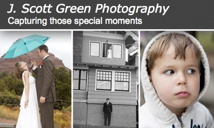 J. Scott Green Photography  - Seattle: $40 for One-Hour On-Location Photo Session with J. Scott Green Photography ($150 Value)