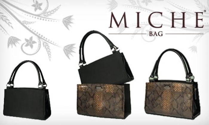 Miche & More - Gretna: $30 for $60 Worth of Handbags and Accessories at Miche & More