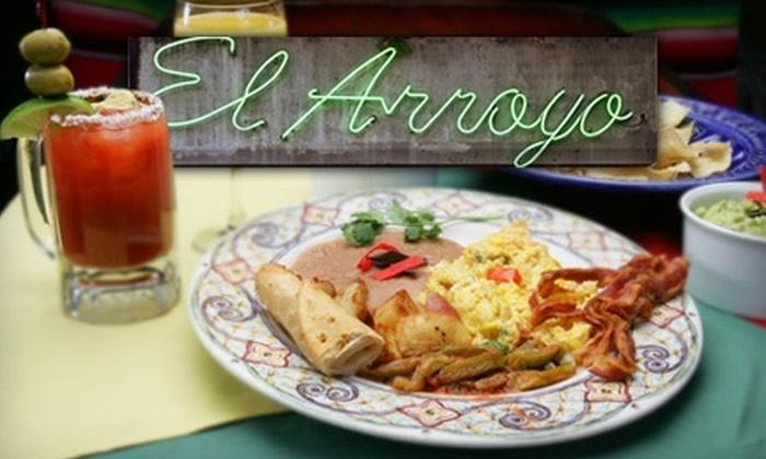 El Arroyo - Multiple Locations: $15 for $30 Worth of Authentic Mexican Brunch at El Arroyo