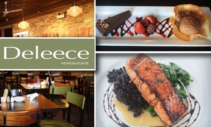 Deleece - Lakeview: $20 for $40 Worth of Inspired Seasonal Fare at Deleece