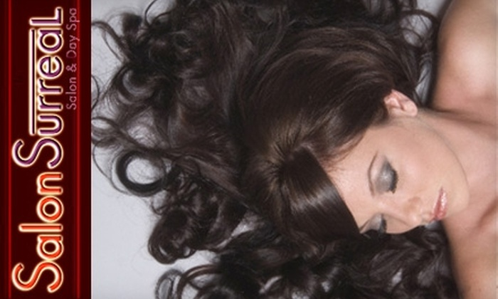 Salon Surreal - Camelback East: $35 for $70 Worth of Hair and Skincare Services