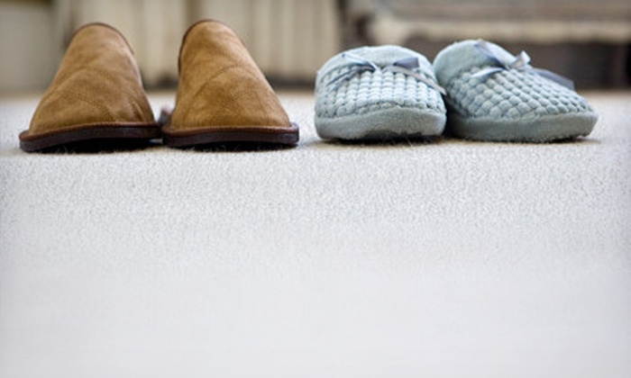 Allen's Carpet Care - Amarillo: $59 for Carpet Cleaning for Three Rooms from Allen's Carpet Care (Up to $150 Value)