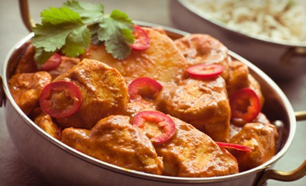 $25 Groupon to Taste of India - Taste of India in Willowbrook